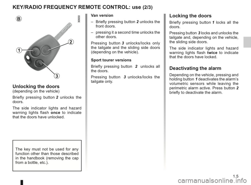 RENAULT KANGOO 2014 X61 / 2.G Owners Manual, Page 10