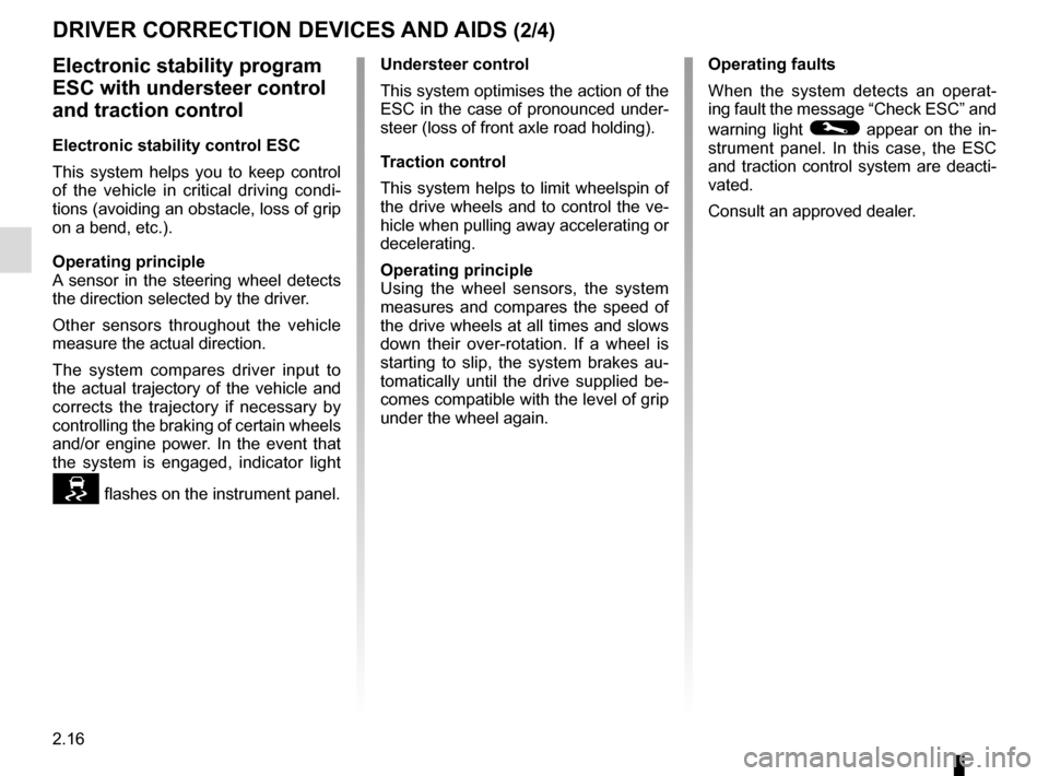 RENAULT ZOE 2014 1.G Owners Manual, Page 106