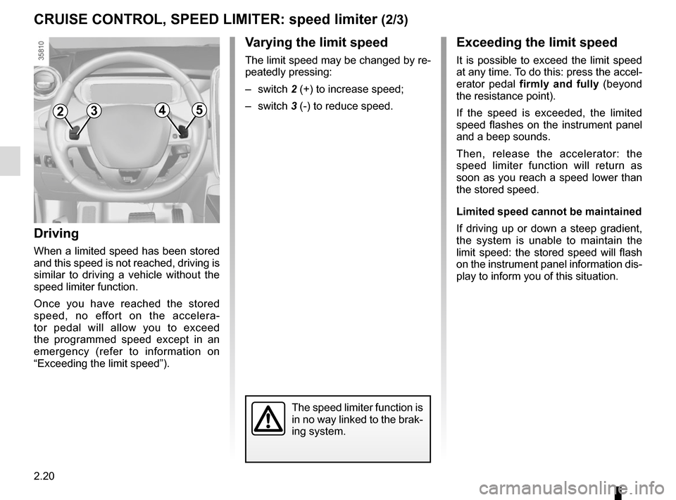 RENAULT ZOE 2014 1.G Owners Manual, Page 110