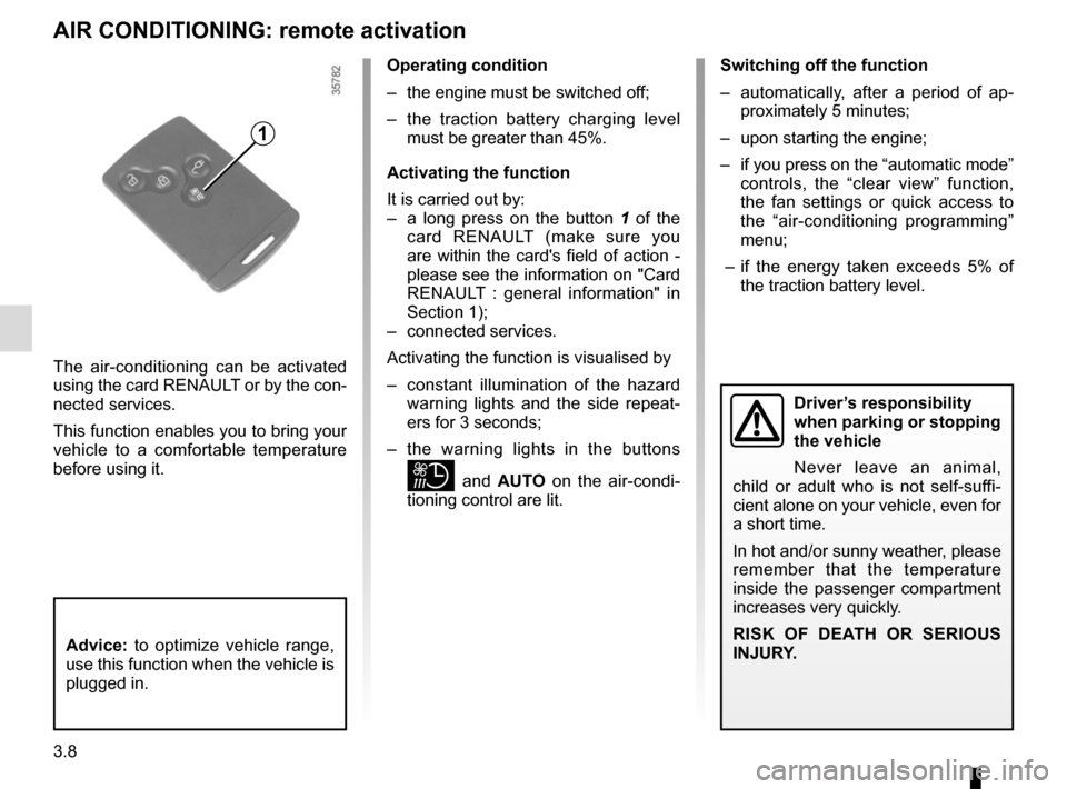 RENAULT ZOE 2014 1.G Owners Manual, Page 128