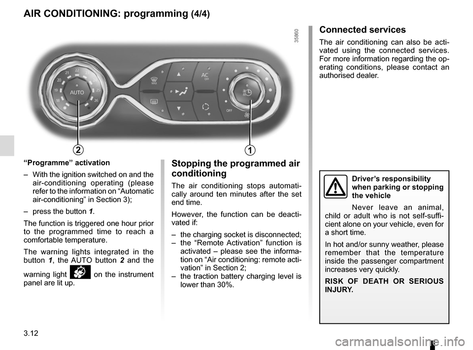 RENAULT ZOE 2014 1.G Owners Manual, Page 132