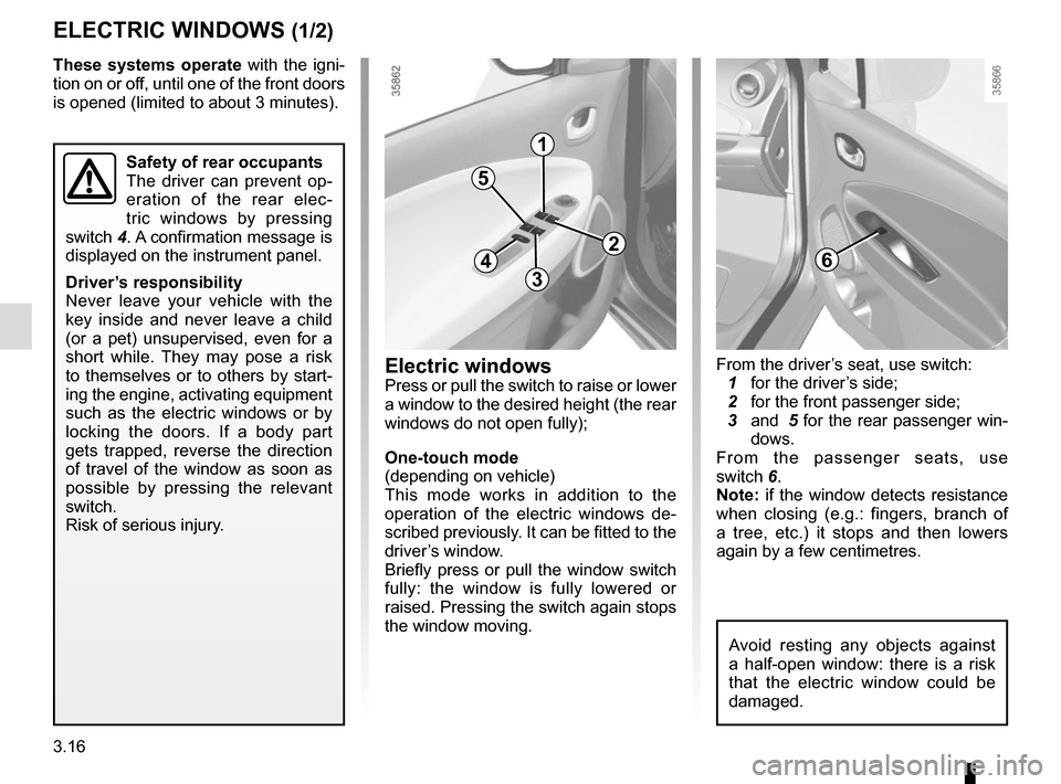 RENAULT ZOE 2014 1.G Owners Manual, Page 136