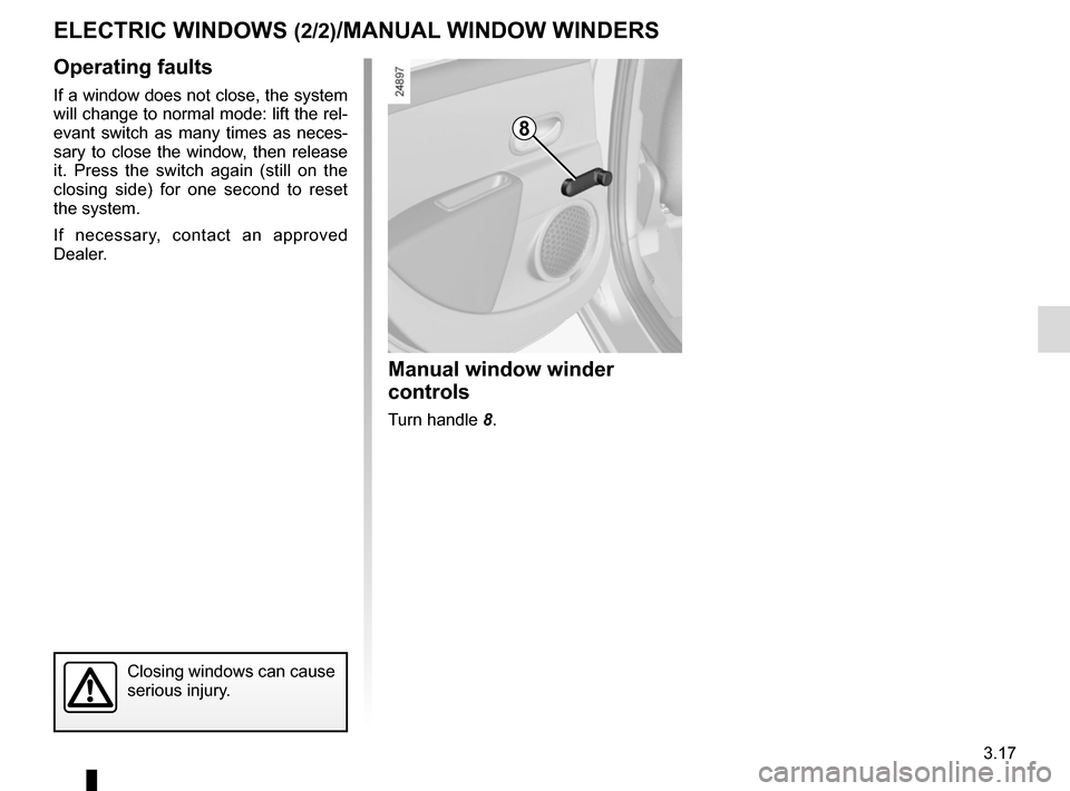RENAULT ZOE 2014 1.G Owners Manual, Page 137