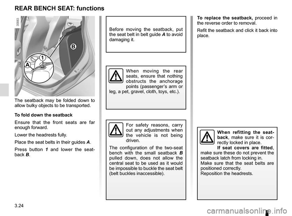 RENAULT ZOE 2014 1.G Owners Manual, Page 144