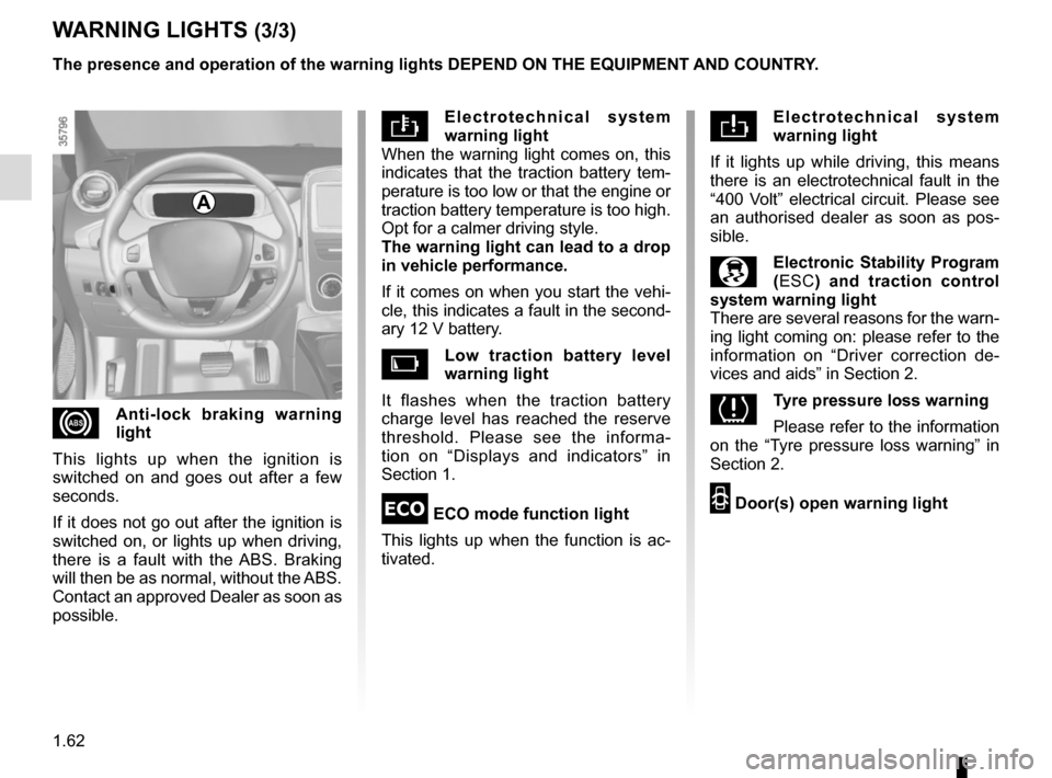 RENAULT ZOE 2014 1.G Owners Manual, Page 68
