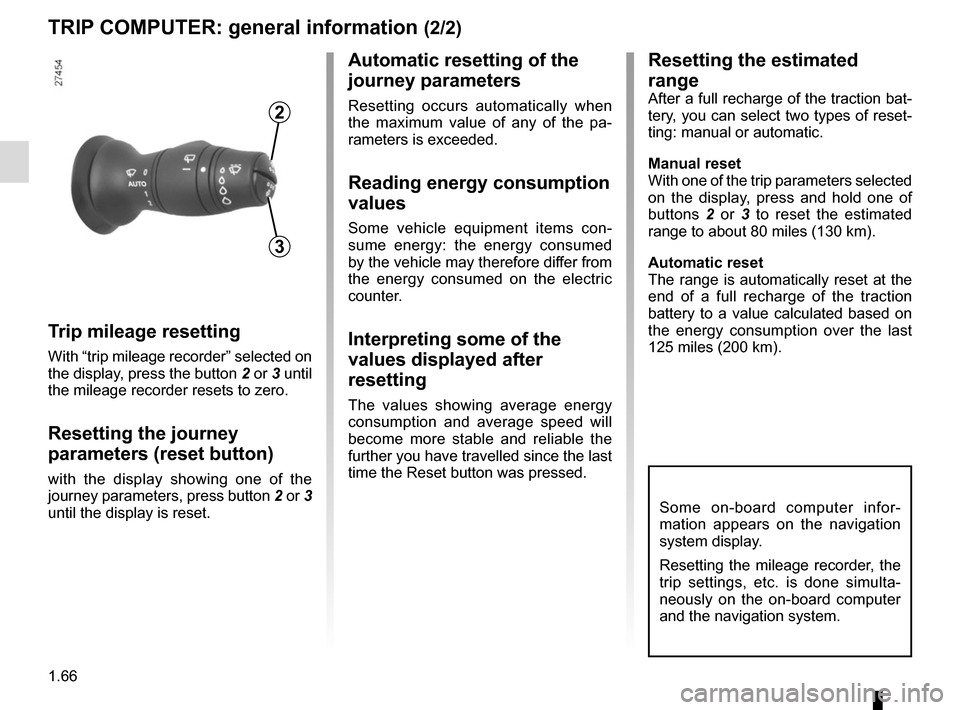RENAULT ZOE 2014 1.G Owners Manual, Page 72