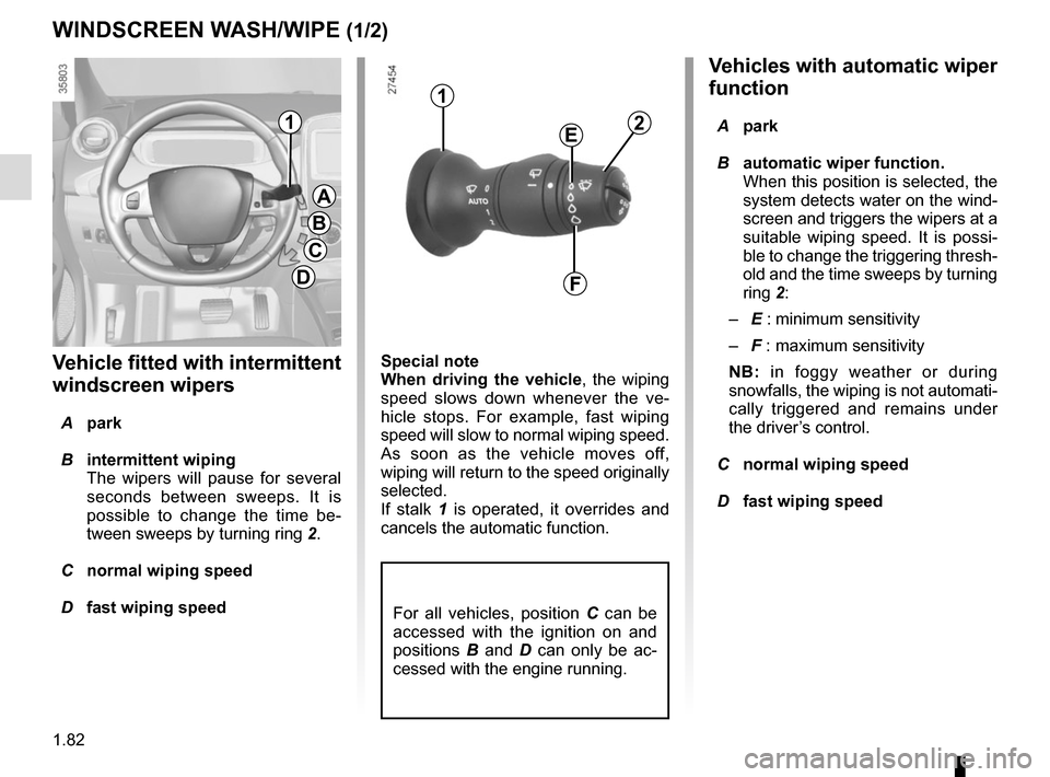 RENAULT ZOE 2014 1.G Owners Manual, Page 88