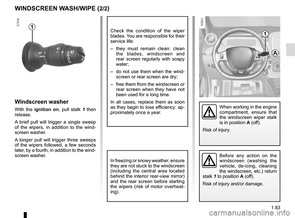 RENAULT ZOE 2014 1.G Owners Manual, Page 89