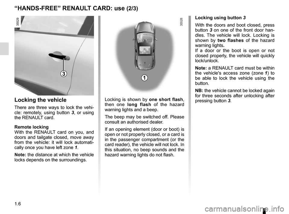 RENAULT CLIO 2015 X98 / 4.G Owners Manual, Page 12