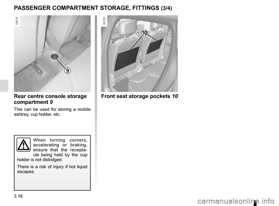 RENAULT CLIO 2015 X98 / 4.G Owners Manual, Page 148