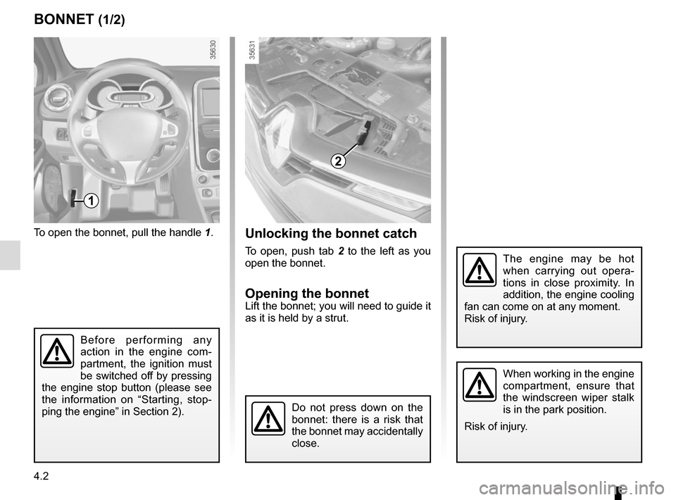 RENAULT CLIO 2015 X98 / 4.G Owners Manual, Page 164