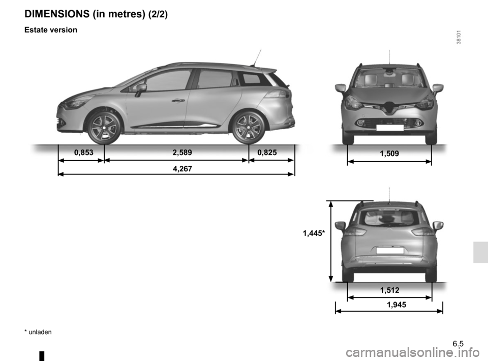 RENAULT CLIO 2015 X98 / 4.G Owners Manual, Page 229