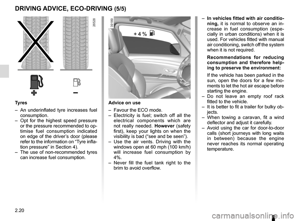 RENAULT ESPACE 2015 5.G Owners Manual, Page 132