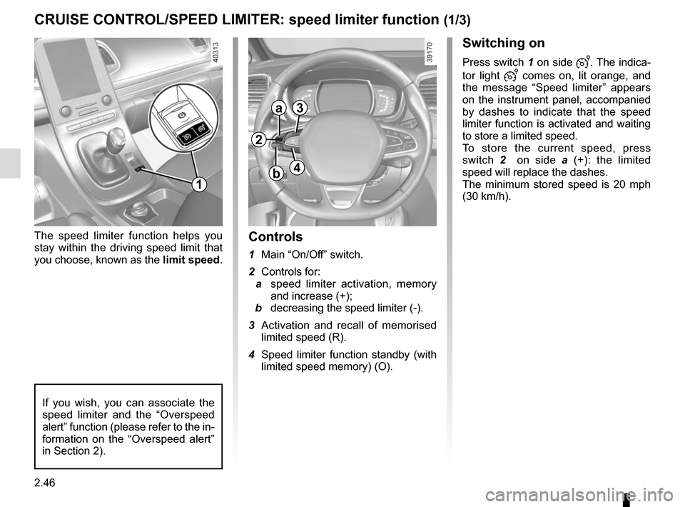 RENAULT ESPACE 2015 5.G Owners Manual, Page 158