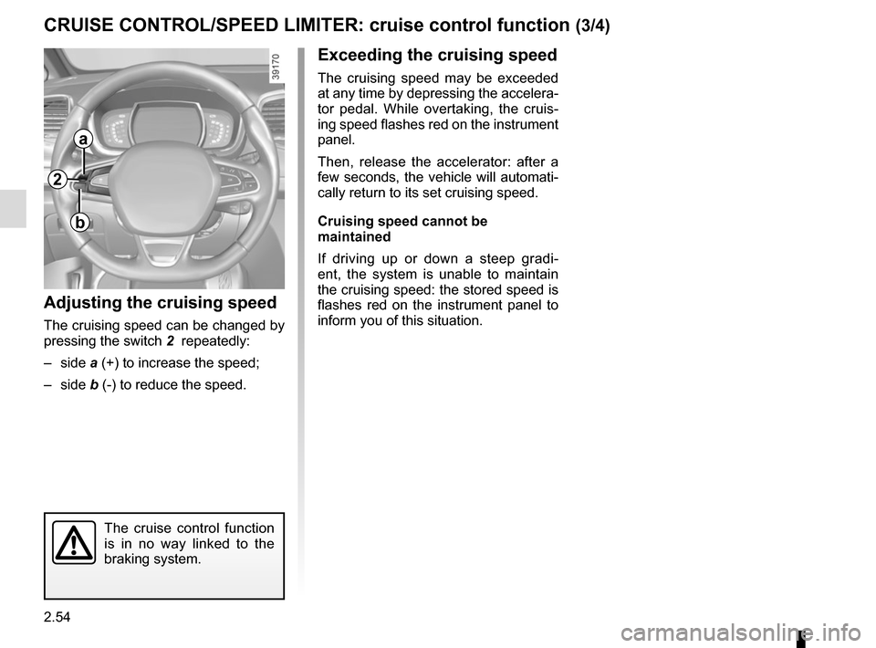 RENAULT ESPACE 2015 5.G Owners Manual, Page 166