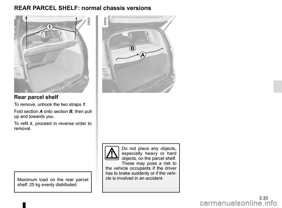 RENAULT GRAND SCENIC 2015 J95 / 3.G Owners Manual, Page 173