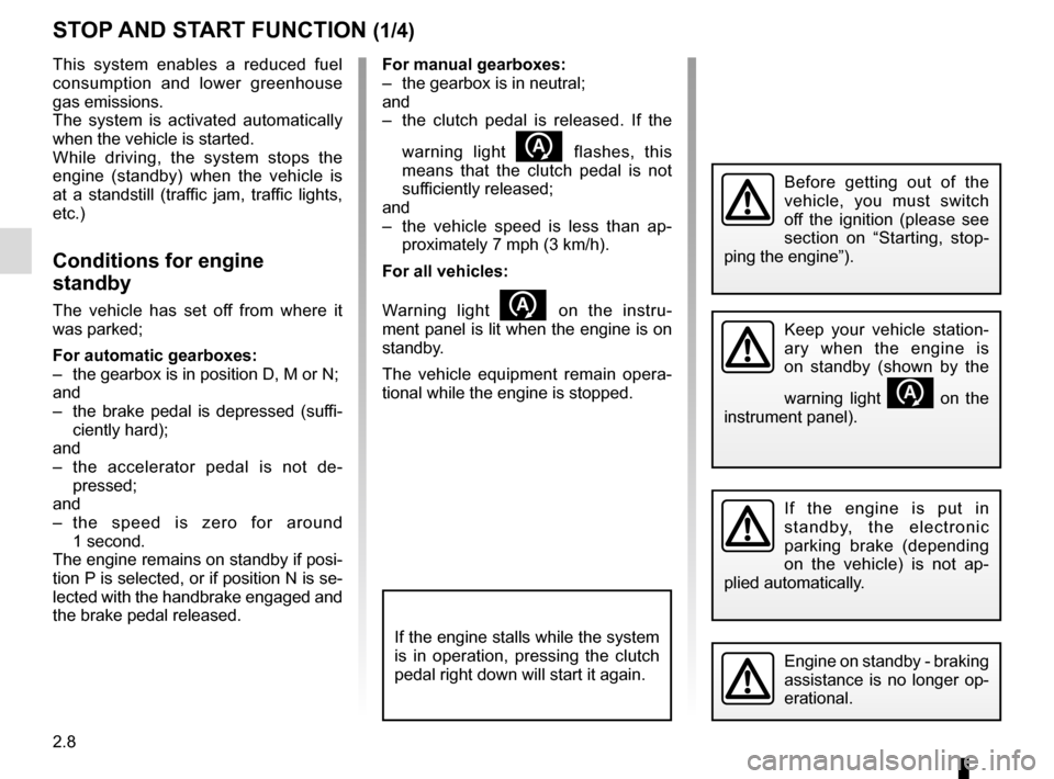 RENAULT KADJAR 2015 1.G Owners Manual, Page 112