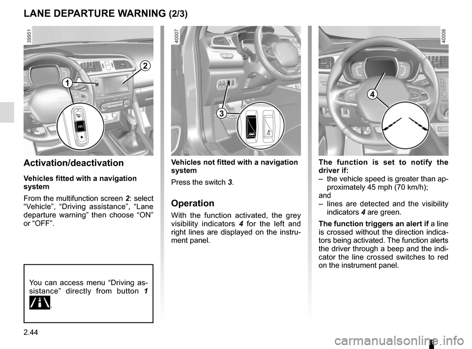 RENAULT KADJAR 2015 1.G Owners Manual, Page 148