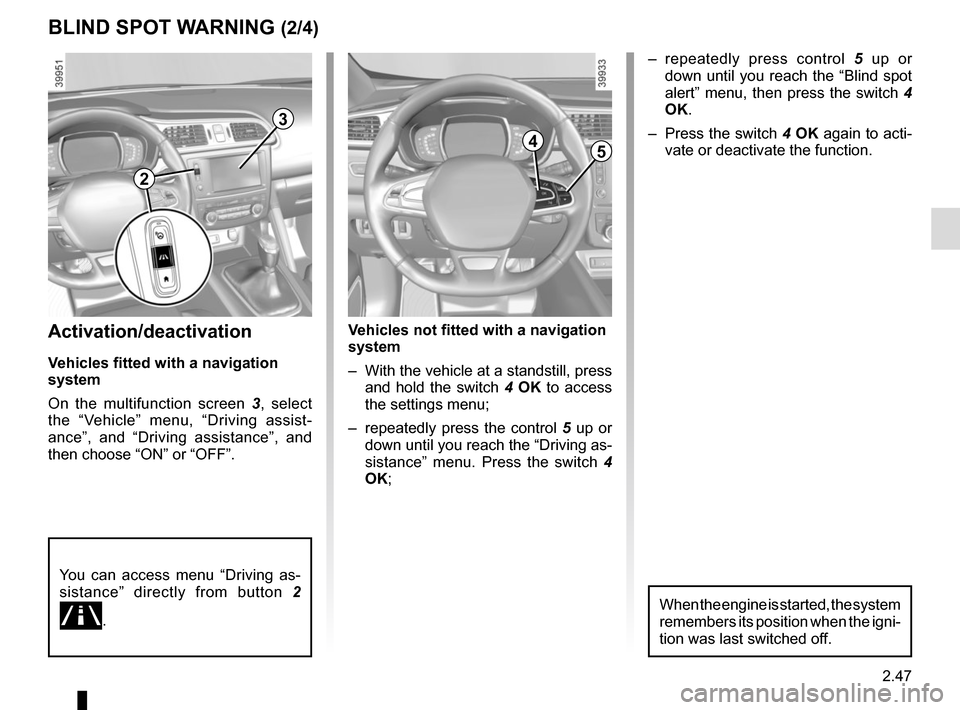 RENAULT KADJAR 2015 1.G Owners Manual, Page 151