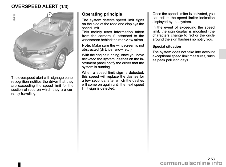RENAULT KADJAR 2015 1.G Owners Manual, Page 157