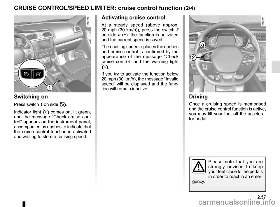 RENAULT KADJAR 2015 1.G Owners Manual, Page 161
