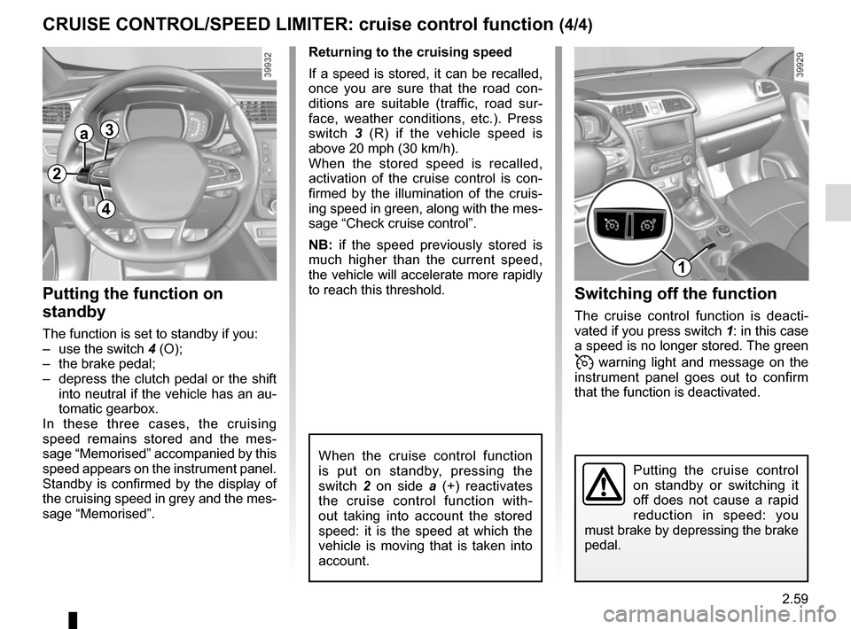 RENAULT KADJAR 2015 1.G Owners Manual, Page 163
