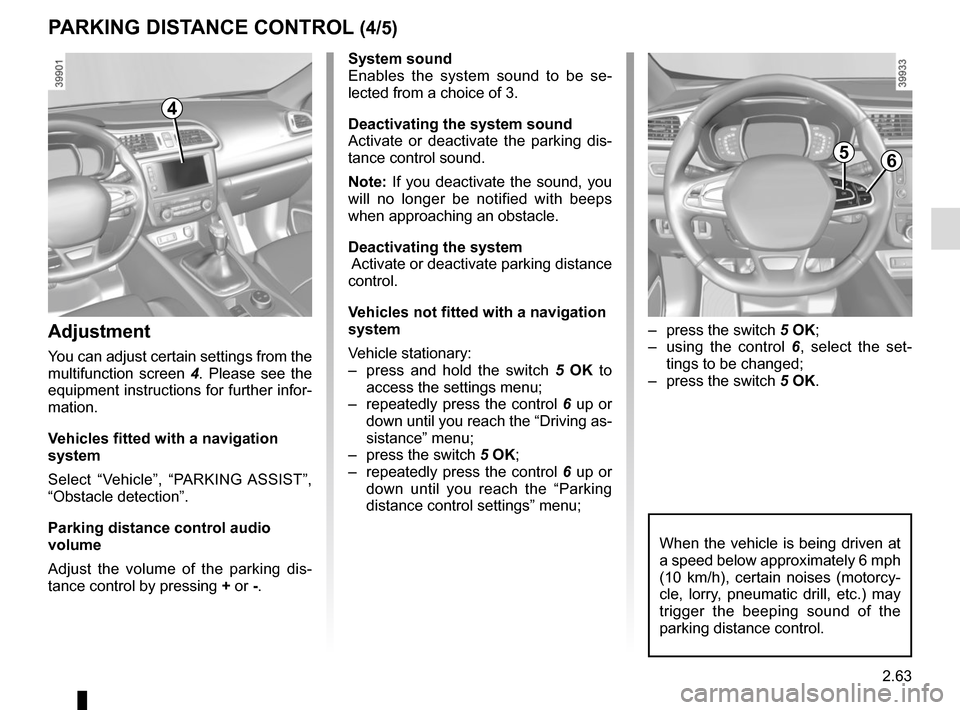RENAULT KADJAR 2015 1.G Owners Manual, Page 167
