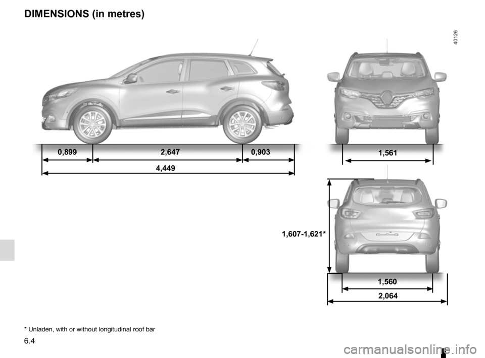 RENAULT KADJAR 2015 1.G Owners Manual, Page 276