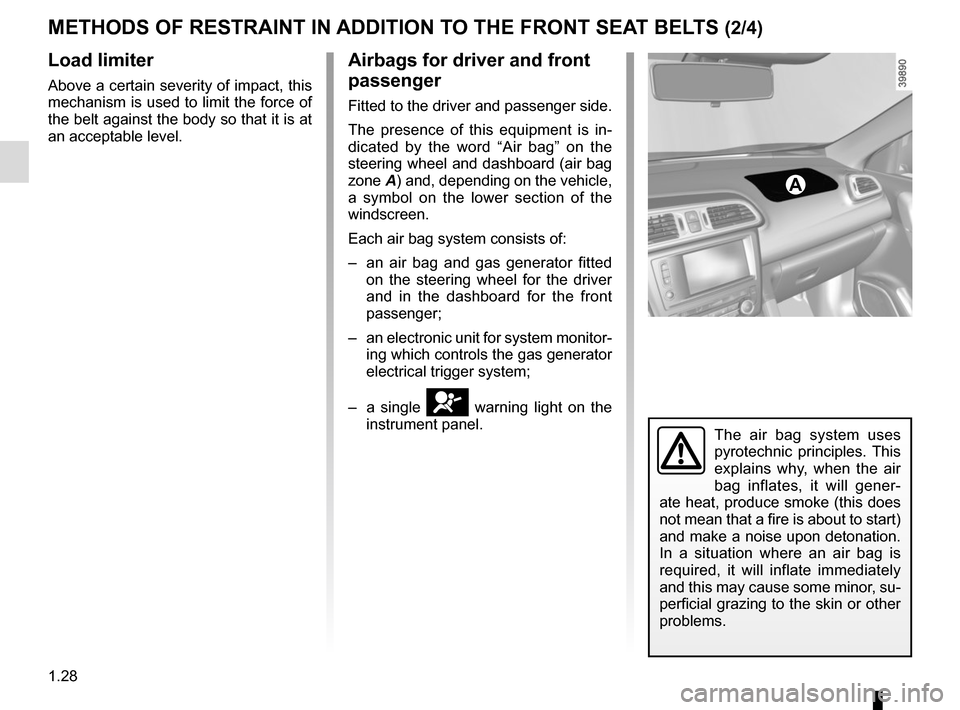 RENAULT KADJAR 2015 1.G Owners Manual, Page 34