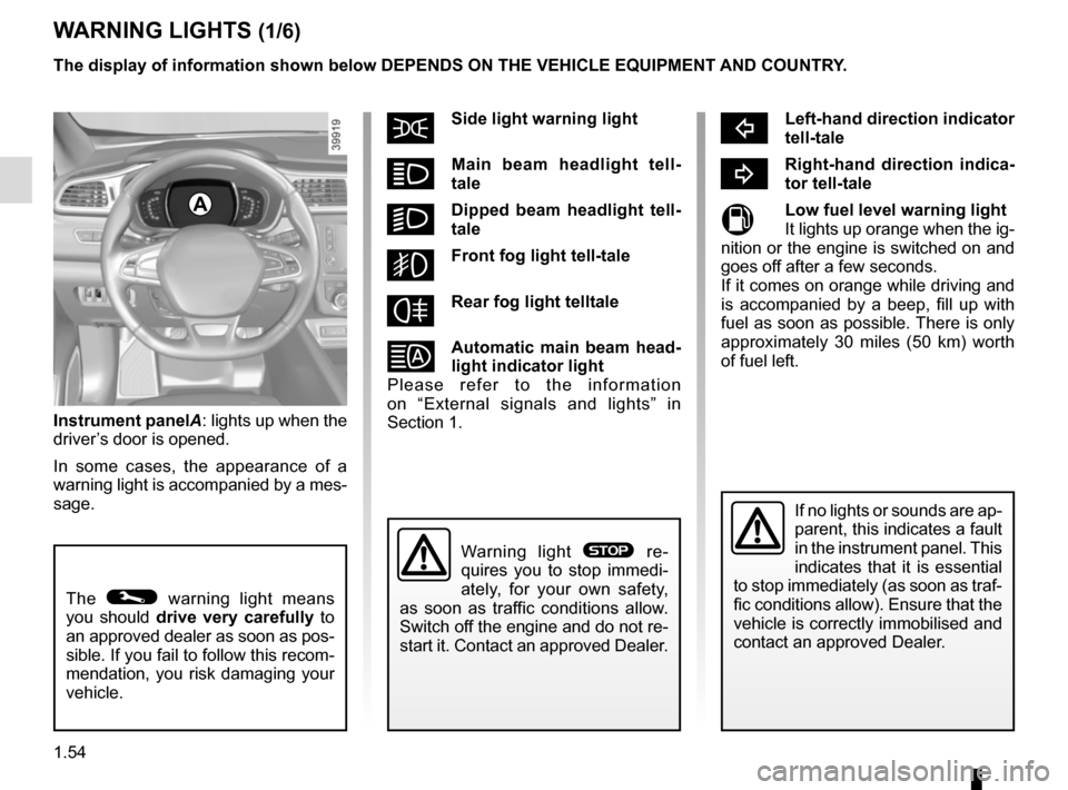 RENAULT KADJAR 2015 1.G Owners Manual, Page 60