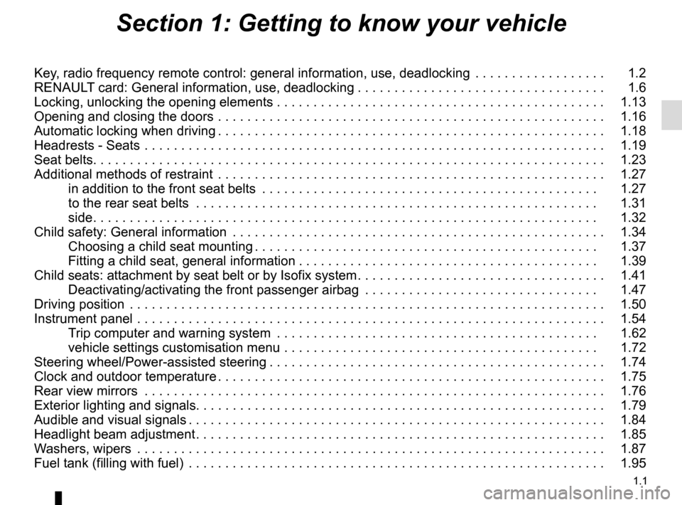 RENAULT KADJAR 2015 1.G Owners Manual, Page 7