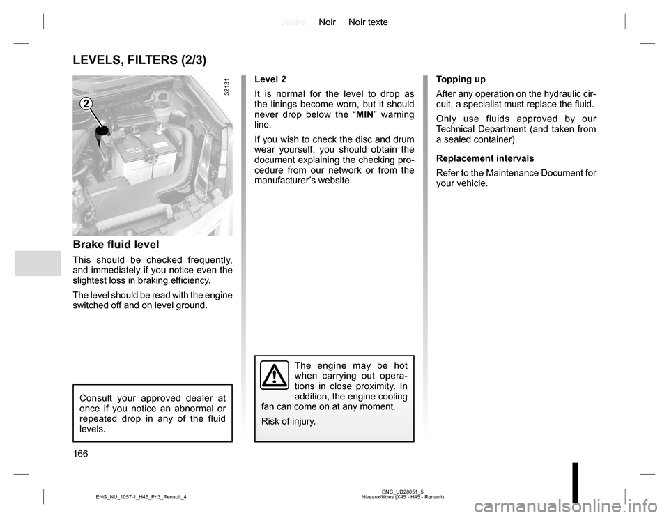 RENAULT KOLEOS 2015 1.G Owners Manual, Page 166