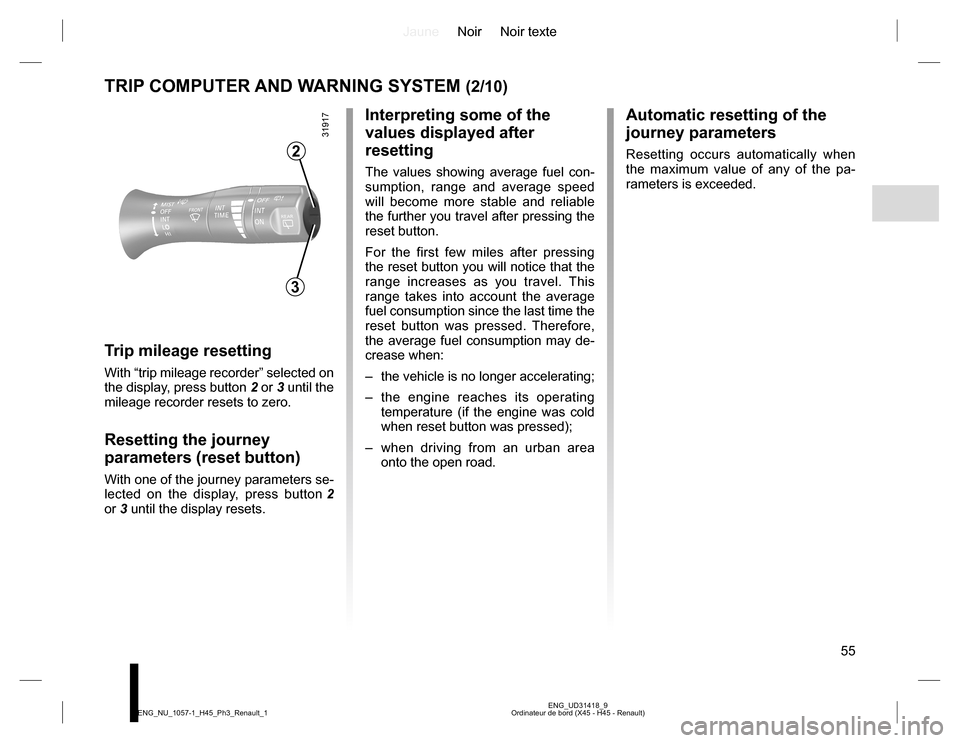 RENAULT KOLEOS 2015 1.G Owners Manual, Page 55