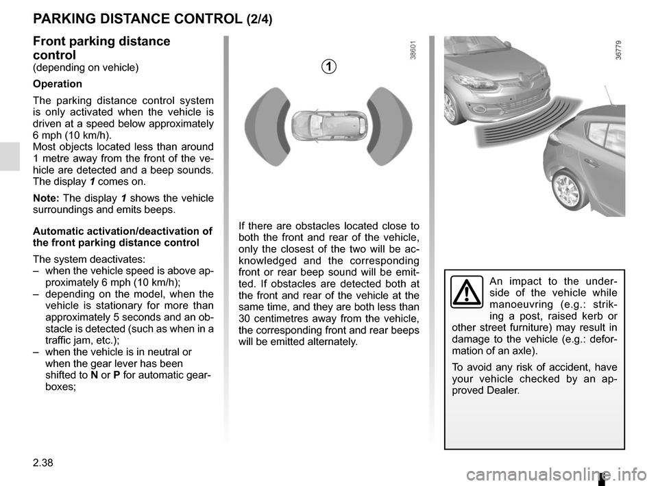 RENAULT MEGANE HATCHBACK 2015 X95 / 3.G Owners Manual, Page 132