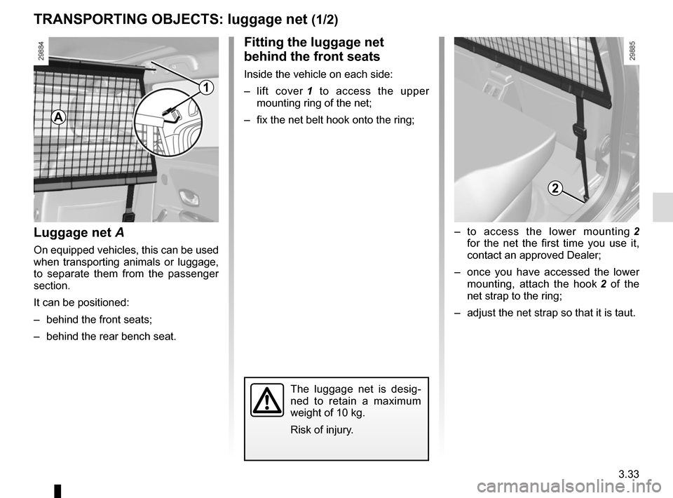 RENAULT MEGANE HATCHBACK 2015 X95 / 3.G Owners Manual, Page 173