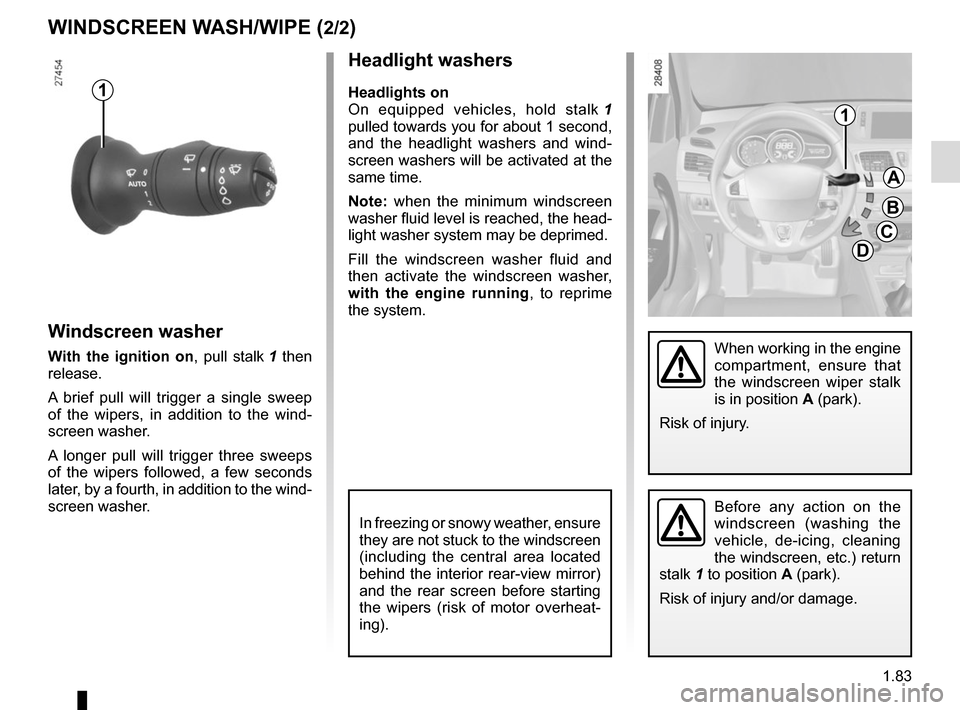 RENAULT MEGANE SPORT TOURER 2015 X95 / 3.G Owners Manual, Page 89