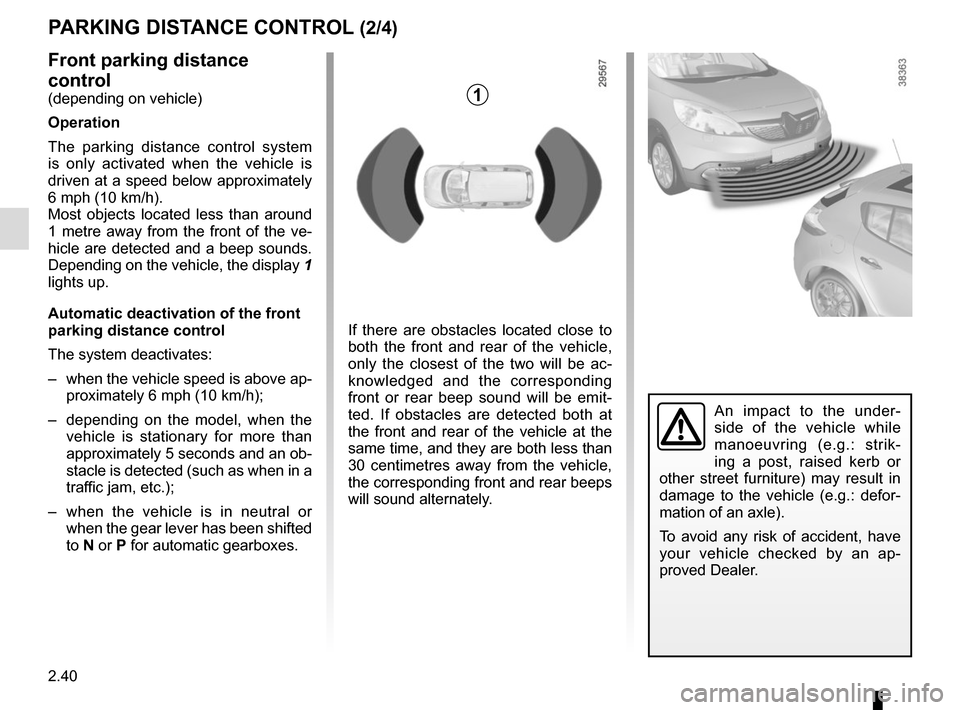 RENAULT SCENIC 2015 J95 / 3.G Owners Manual, Page 132