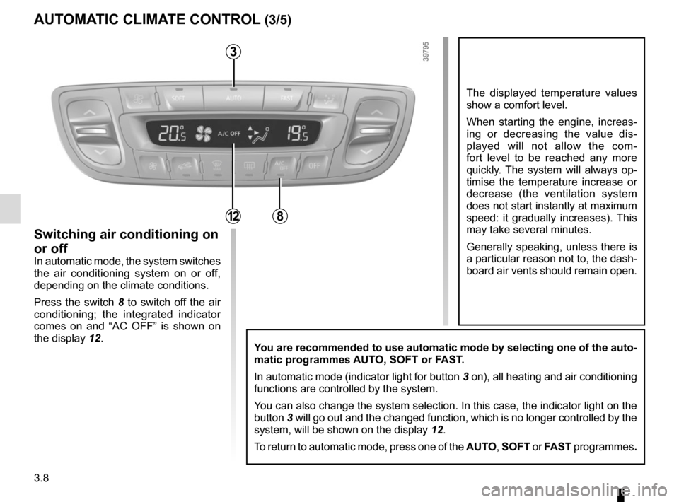 RENAULT SCENIC 2015 J95 / 3.G Owners Manual, Page 148