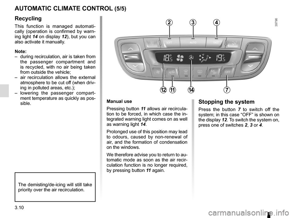 RENAULT SCENIC 2015 J95 / 3.G Owners Manual, Page 150