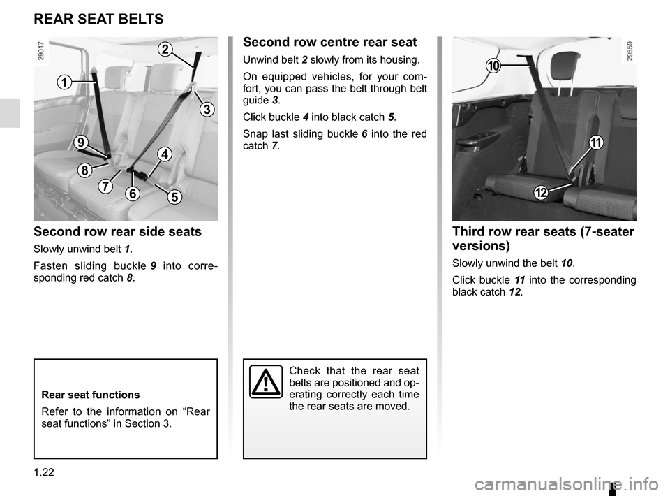 RENAULT SCENIC 2015 J95 / 3.G Owners Manual, Page 28