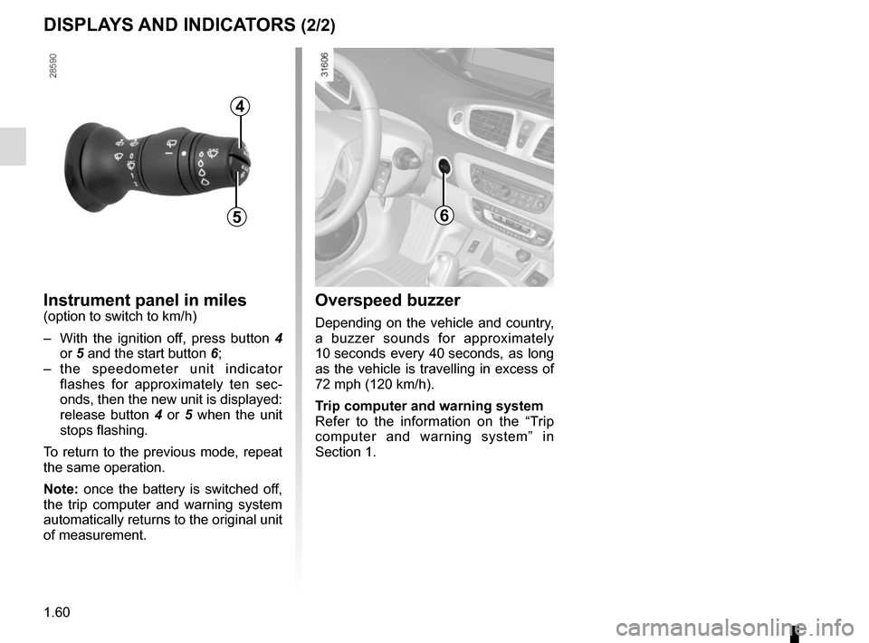 RENAULT SCENIC 2015 J95 / 3.G Owners Manual, Page 66