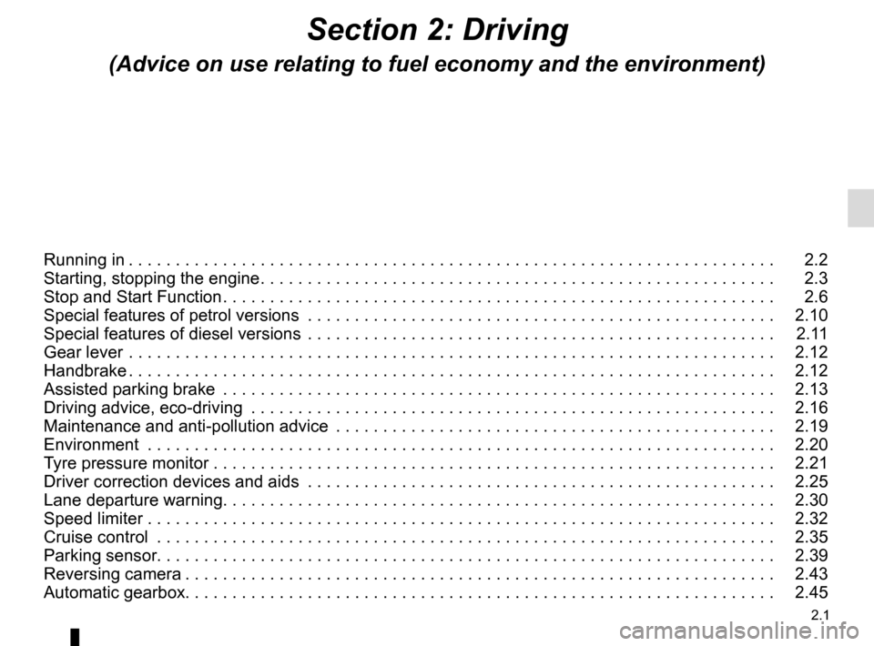 RENAULT SCENIC 2015 J95 / 3.G Owners Manual, Page 93