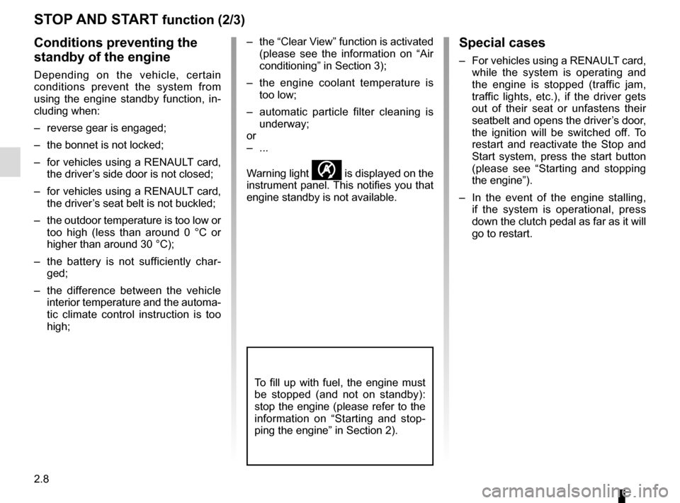 RENAULT TRAFIC 2015 X82 / 3.G Owners Manual, Page 132
