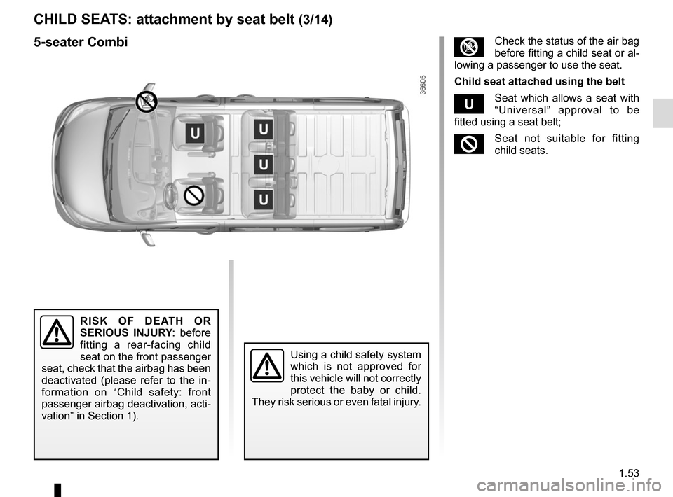 RENAULT TRAFIC 2015 X82 / 3.G Owners Manual, Page 59