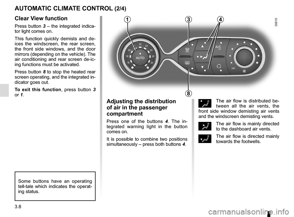 RENAULT TWINGO 2015 3.G Owners Manual, Page 120