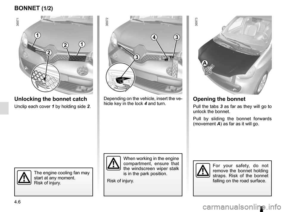 RENAULT TWINGO 2015 3.G Owners Manual, Page 146