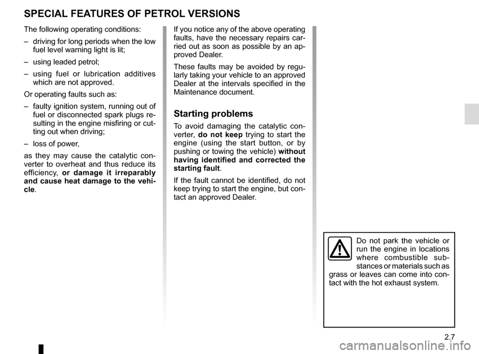 RENAULT TWINGO 2015 3.G Owners Manual, Page 81