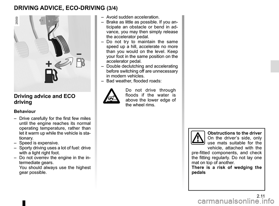 RENAULT TWINGO 2015 3.G Owners Manual, Page 85