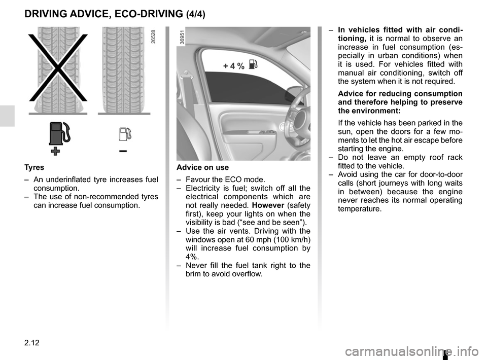RENAULT TWINGO 2015 3.G Owners Manual, Page 86