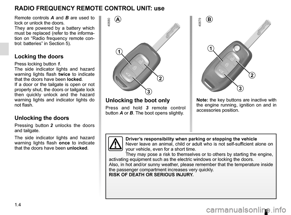 RENAULT TWINGO 2015 3.G Owners Manual, Page 10